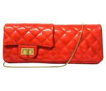 "Second Hand  ""Double Mini Rouge Flap Bag"""