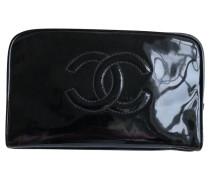 Second Hand  clutch Lakleer in Zwart