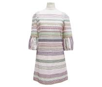 Second Hand  Kleid mit Webstreifen