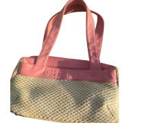 Second Hand  Handtasche aus Canvas in Rosa / Pink