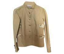 Second Hand  Jacke/Mantel in Creme
