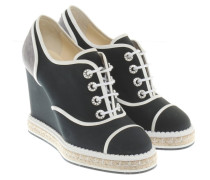 Second Hand  Sneaker-Wedges in Schwarz