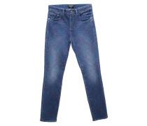 Second Hand  Jeans aus Baumwolle in Blau