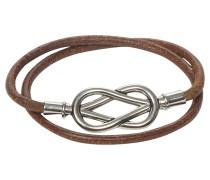 Second Hand  Wickelarmband in Braun