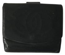 9facd9ec4ecf7 Second Hand Täschchen Portemonnaie aus Leder in Schwarz