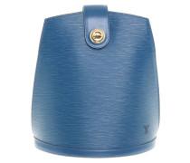 Second Hand  Pochette Métis 25 aus Leder in Blau