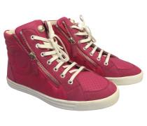 Second Hand  Sneaker aus Leder