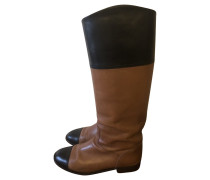 Second Hand  Stiefel aus Leder