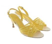 Second Hand  Sandaletten in Gelb