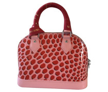 Second Hand  Handtasche aus Lackleder in Rosa / Pink