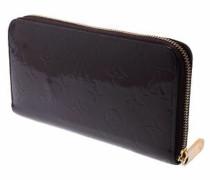 Second Hand  Täschchen/Portemonnaie aus Lackleder in Schwarz
