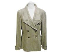 Second Hand  Jacke/Mantel aus Baumwolle in Beige