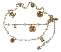 Second Hand  Kettengürtel mit Perlen