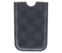 Second Hand  iPhone Case aus Damier Graphite Canvas