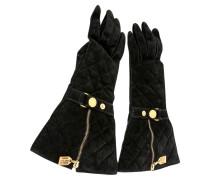 Second Hand  Handschuhe aus Wildleder