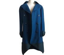 Second Hand  Mantel in Blau