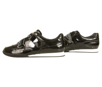 Second Hand  Sneaker aus Lackleder