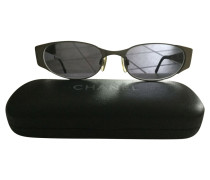 Second Hand  Brille in Taupe