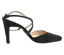 Second Hand  Slingpumps aus Rips