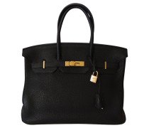 Second Hand  Hermes 35 BLACK GOLD TOGO HW