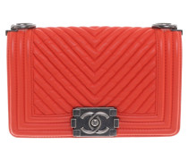 "Second Hand  ""Boy Bag Small"" in Orange-Rot"