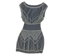 Second Hand  Kleid mit Streifenmuster
