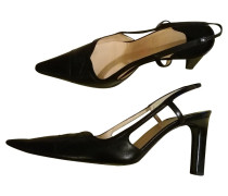 Second Hand  Slingbacks in Schwarz