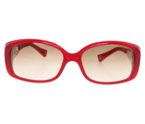 Second Hand  Sonnenbrille in Rot