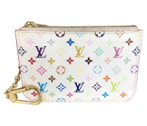 "Second Hand  ""Key Pouch Monogram Multicolore Canvas"""