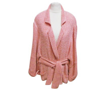 Second Hand  Jacke/Mantel aus Jersey in Rosa / Pink
