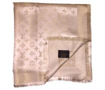 Second Hand  Schal/Tuch aus Seide in Gold