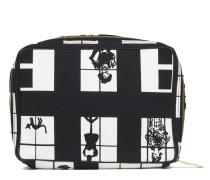 Second Hand  Reisetasche aus Canvas in Schwarz