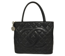 """Second Hand  """"Medallion Tote"""""""