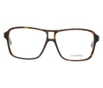 Second Hand  Brille mit Schildpattmuster