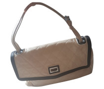 Second Hand  Flap Bag in Bicolor