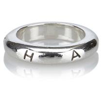 Second Hand  Ring mit Logo-Gravur