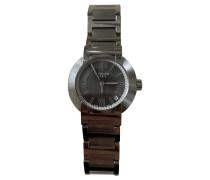 Second Hand  Armbanduhr aus Stahl in Silbern