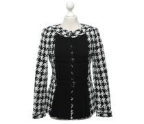 Second Hand  Jacke in Schwarz/Weiß