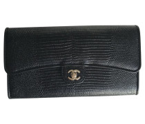 Second Hand  Portemonnaie aus Echsenleder