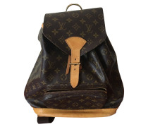 "Second Hand  ""Montsouris GM Monogram Canvas"""