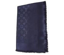 Second Hand  Monogram-Tuch in Nachtblau