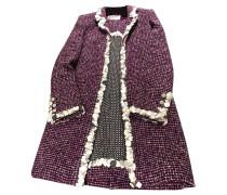 Second Hand  Anzug aus Seide in Violett