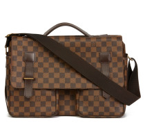 "Second Hand  ""Broadway Messenger Damier Ebene Canvas"""