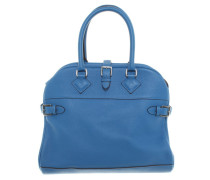 Second Hand  Handtasche Atlas in Blau