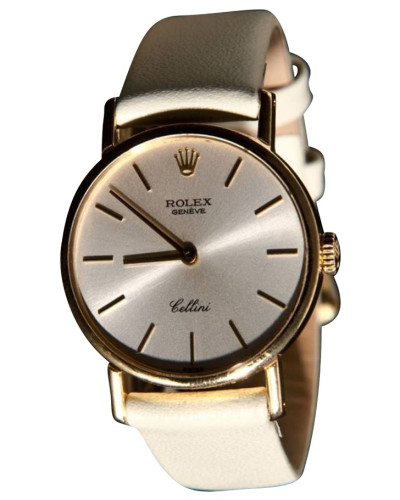 "Second Hand  ""Cellini 18K Gold"""
