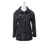 Second Hand  Jacke aus Tweed