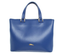 Second Hand  Handtasche in Blau
