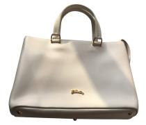 Second Hand  Handtasche in Weiß
