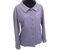 Second Hand  Jacke/Mantel aus Wolle in Violett