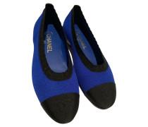 Second Hand  Slipper/Ballerinas in Blau